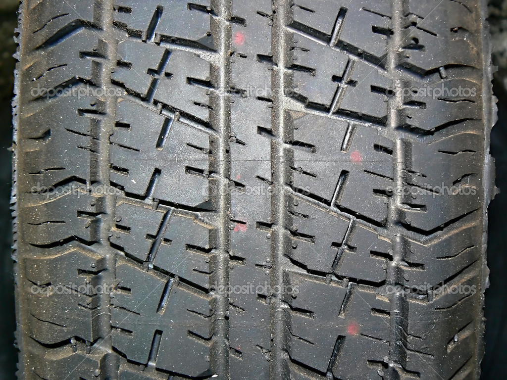 Tread, wheel, mechanics, technique, car, repair part, rubber, tire, pneumatic tyre, tubeless tyre  Stock Photo #1565137