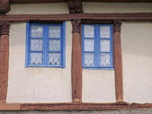 Moncontour, Timbered house in Brittany — Stock Photo