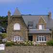 Stock Photo: Residential house in Brittany, France