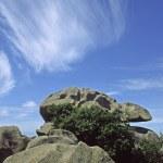 Rocky coastline, Brittany, France — Stock Photo #1748019