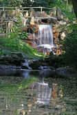 Waterfall in Georgsmarienhuette, Germany — Stock Photo