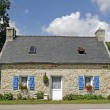Bretonic house near Combrit, Brittany — Stock Photo