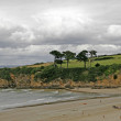 Landscape near Douarnenez, Brittany — Stock Photo