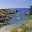 Belle-Ile, Port Goulphar, Brittany — Stock Photo