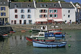 Belle-Ile, Sauzon, Harbour, Brittany — Stock Photo