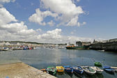 Concarneau, harbour in Brittany, France — Foto Stock