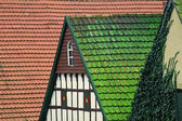 Timbered house, Borgloh, Lower Saxony — Stock Photo