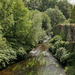 River in Quimperle, Brittany, France — Stock Photo
