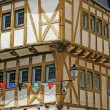 Vannes, Old part of town, Brittany — Stock Photo