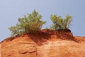 Ocher rocks (French Colorado), France — Stock Photo