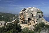 Capo d'orso, landmark, Sardinië — Stockfoto