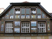 Timbered house in Osnabrück, Germany — Stock Photo