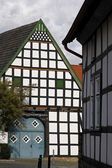Nice timbered house in Germany — Stock Photo