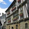 Stock Photo: Quimperle, Timbered house in France