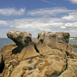 Boulder in Pointe de Trevignon, Brittany — Photo