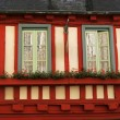 Stock Photo: Quimper, timbered house, Brittany