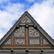 Stock Photo: Timbered house in Rinteln, Germany