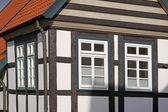 Timbered house detail in Germany — Stock Photo