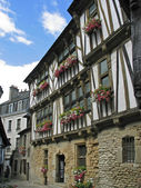 Quimperle, Timbered house in France — Stock Photo