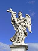 Rome, Aelian Bridge with angels, Italy — Stock Photo