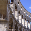 Roman arena in Pula, Croatia — Stock Photo