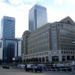 Canary wharf , London, UK — Stock Photo