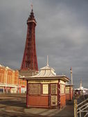 Blackpool Tower, UK — Stock Photo