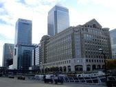 Canary wharf , London, UK — Stock Photo