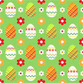 Easter background seamless — Stock Vector