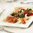 Foto Stock: Gourmet appetizer on plate