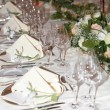 Table decoration — Foto Stock