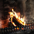 Stock Photo: Woodburning stove