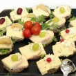 Stock Photo: Cheese platter