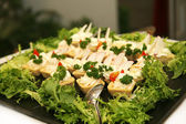 Fresh mixed salad — Stock Photo