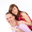 Young, smiling couple. — Stock Photo