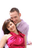 In love, young couple — Stock Photo