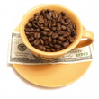 Business caffee — Stock Photo