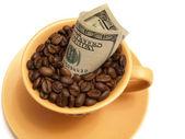 Business caffee — Stock Photo
