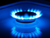 Natural gas — Foto Stock