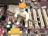 Computer — Stockfoto