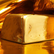 Stock Photo: Gold ingot
