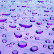Violet drops — Stock Photo #1687145