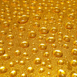 Stock Photo: Golden drops