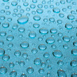 Blue drops — Stock Photo