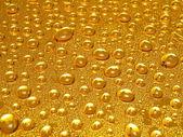 Golden drops — Stock Photo