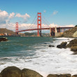 Stock Photo: Golden Gate Bridge.