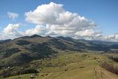 Carpathian's landscape. — Stock Photo