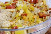 Glass noodle salad — Stock Photo