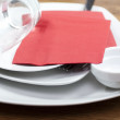 Stock Photo: Set of dishes