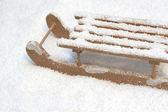 Toy sledge — Stock Photo